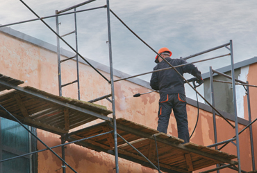 travaux de ravalement et entretien de façade